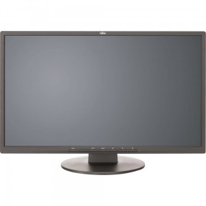 Fujitsu Monitor 21.5 E22-8 TS Pro, EU, E-Line 54.6cm wide Display, IPS, LED, matt black, DP, DVI, VGA, tilt stand