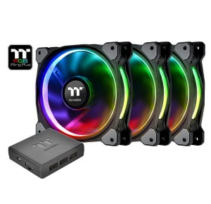 Thermaltake Riing 12 RGB Plus TT Premium Edition 3 Pack (3x120mm, 500-1500 RPM)