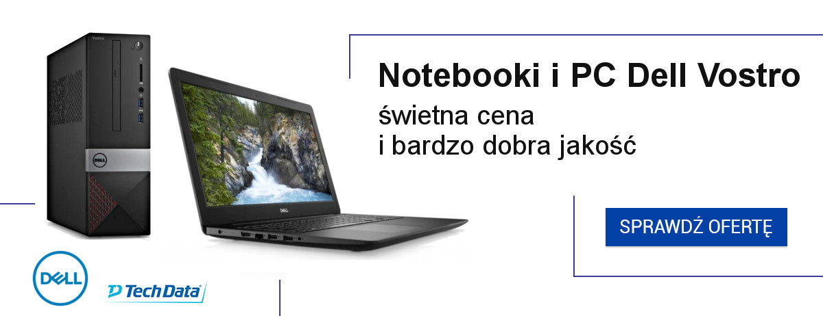 Dell vostro notebooki i pc - banner